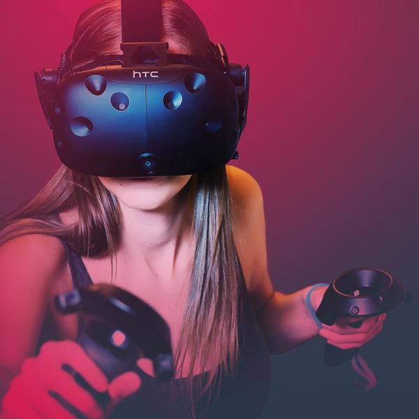 Play VR gaming arcade
